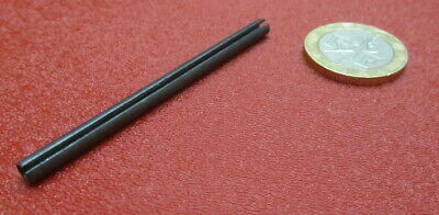 """Steel Slotted Roll Spring Pin, 5/32"""" Dia x 2.50"""" Length, 100 pcs 2"""
