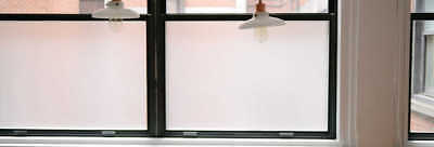 Frosted Vinyl, Etched Window Film, Self-Adhesive 24/7 Privacy Glass Tint 2