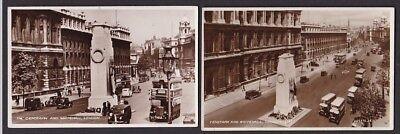 LONDON Whitehall The Cenotaph x13 c1920/30s? RP PPCs + 1 PPC