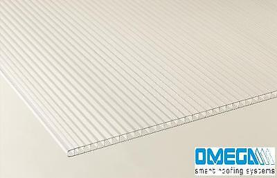 4mm Polycarbonate Sheet | Greenhouse Replacement Panels + Glazing Clips W / Z 6