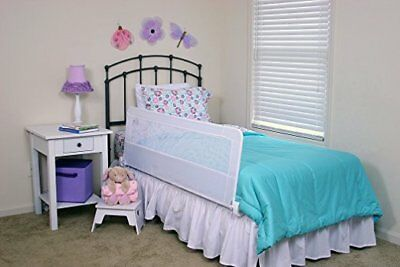 Regalo Swing Down Extra Long Bedrail Bed Rail Crib Toddler Elderly Child Safety 5