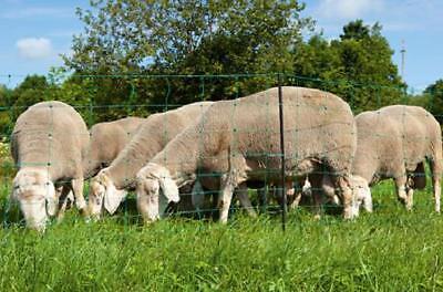 Filet OVINET haut 110cm / long 50m cloture 10 hauteurs de fils, mouton chevre 2