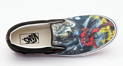 ... Vans classic iron maiden number of the beast slip on limited edition 4 d092d27c8