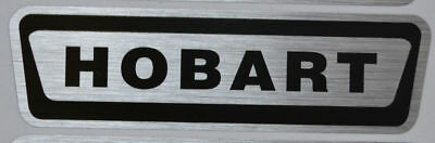 Hobart Label decal 3 pack Brand New Middle logo Free Shipping!!