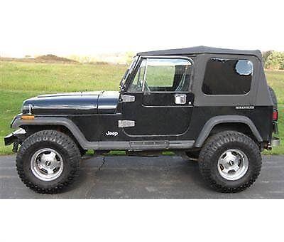 ... 1976 1995 Jeep Wrangler U0026 CJ7 Soft Top Kit For Jeeps W/ Full Doors