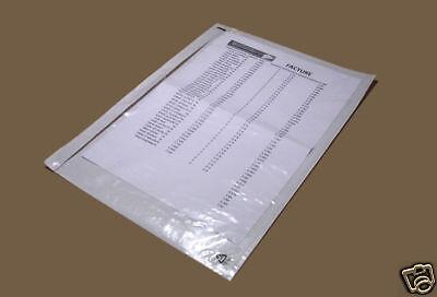 500 Pochettes Porte-document A4 adhésives transparentes 4