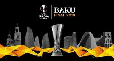 2 Ticket Biglietti Europa League Finale Final Baku Cat 2 Free Arsenal Chelsea 2