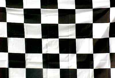 "/""BLUE /& WHITE CHECKER/"" flag 2/' x 3/' ft polyester race racing check"