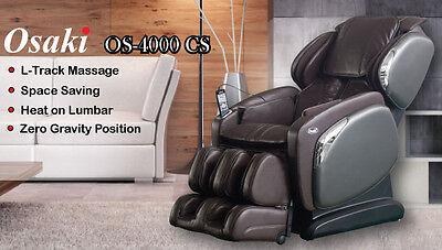 2 Of 12 Osaki OS 4000CS Zero Gravity Wall Hugger Space Saver Massage Chair  Recliner HEAT