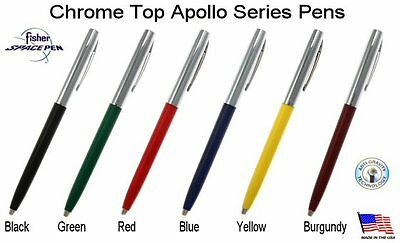 Fisher Space Pen #S251-BLUE / Apollo Series Pen in Blue & Chrome 10