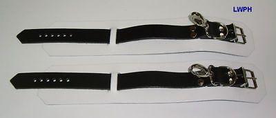 Komplettes Fessel-Set Hals-Hand-Fußfesseln-Ketten und Maske in Farben-Varianten 7