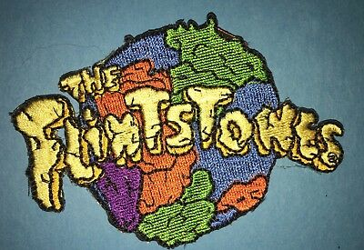 24 Lot The Flintstones Iron On Embroidered Hat Jacket Backpack Patches Crests