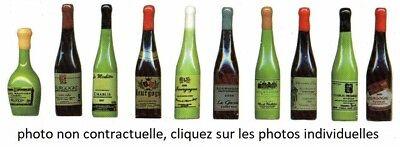 BOUTEILLE DE VIN DE FRANCE FRENCH WINE FEVE PORCELAINE 3D 46/48 mm au choix 2