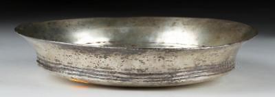 Ancient Greek Silver Libation Dish - 204.2 grams Lot 21