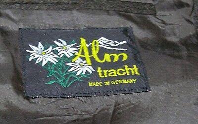 ☛ Edle braune Miesbacher Herrn Trachten Loden Jacke v. Alm Tracht Größe: 52  ☚ 9