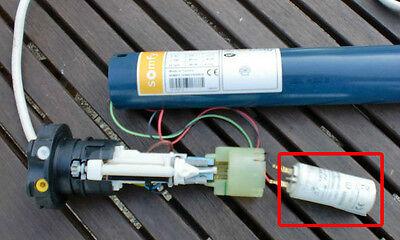 Condensateur de 3.3 uF (µF) pour moteur SOMFY ou SIMU de volet roulant ou store 3