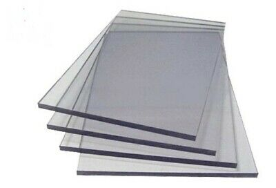 Clear Perspex Acrylic Sheet Panel Laser Cut To Size Plastic Extrude XT Material 3
