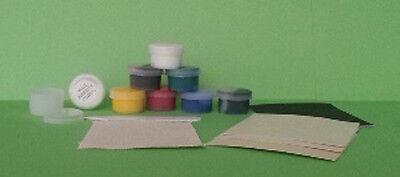 No Heat Liquid Leather & Vinyl Repair Kit Fix Holes Burns Rips Gouges 3