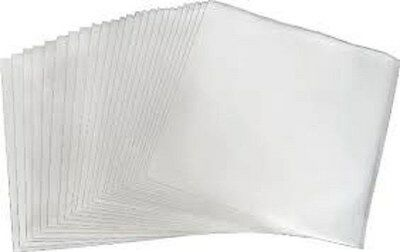 100 Clear Plastic LP Outer Sleeves 3 Mil. HIGH QUALITY Vinyl Record Album Covers 3