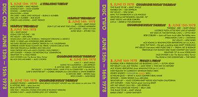KMET 94.7 ~ 2 CD Set ~ Vol 001 JUNE 1978 ~ Mini Lp/cd Radio Aircheck ~ BRAND NEW 3