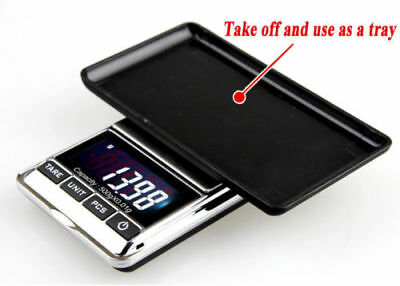 500g 0.01 DIGITAL POCKET SCALES JEWELLERY ELECTRONIC milligram micro mg 7