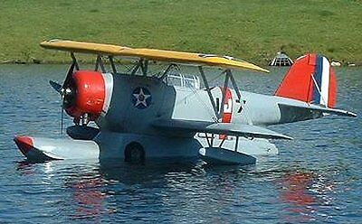 Grumman J2f Duck 58 Inch Giant Scale Rc Airplane Printed Plans