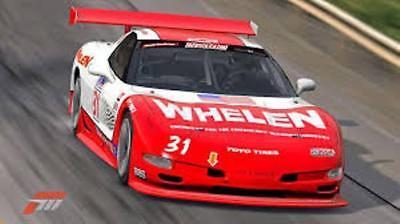 #31 Boris Said Whelen Corvette 1//18th Scale Waterslide Decals