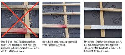 Baustoffe & Holz Heimwerker Dachlattenverlängerung Für 30 X 50 Lattung 1000 Mm Lang Aus Verz Stahlblech