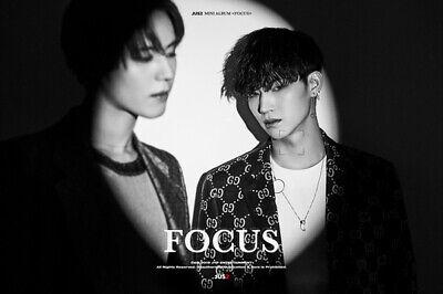 GOT7 JUS2 [FOCUS] Mini Album CD+POSTER+Book+Lyrics+2p Card+Pre-Order+GIFT SEALED 4