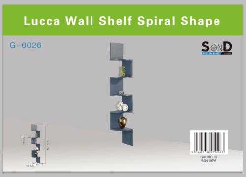 2/3/ 5 Tier Floating Wall Shelves Corner Shelf Storage Display Bookcase 6