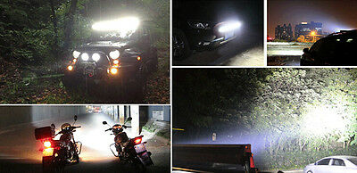 10x 18W 6INCH LED WORK LIGHT BAR OFFROAD FLOOD DRIVING AUTO TRUCK UTE 4WD LAMP 10