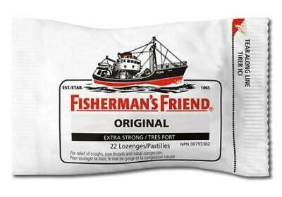 24 Fisherman's Friend Original Extra Strong Lozengers 25gm 3