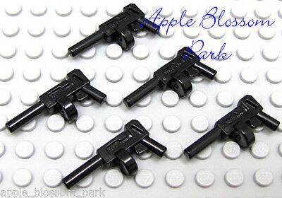 Joker Batman Minifigure lot new 10 Lego BLACK TOMMY Machine GUNS