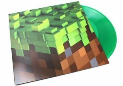 C418 Minecraft Volume Alpha GREEN VINYL LP Record &MP3 video game soundtrack NEW 2