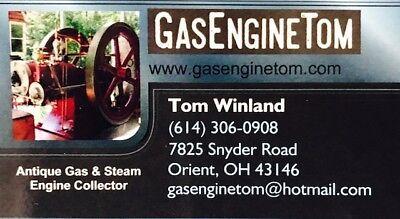 Postcard Sales Brochure Bull's Eye Bullseye Jacobson Hit Miss Gasoline Engine 6