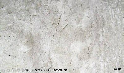 Slate Seamless Texture Stamps Mats Skin 1.5' Concrete Cement Stamping Tool New