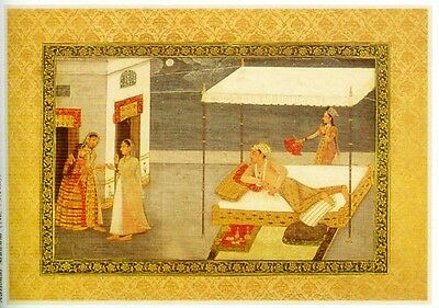Indian Miniature Painting Color Rajasthani Mughal Deccani Pahari Manuscripts Pix 7 • CAD $44.45