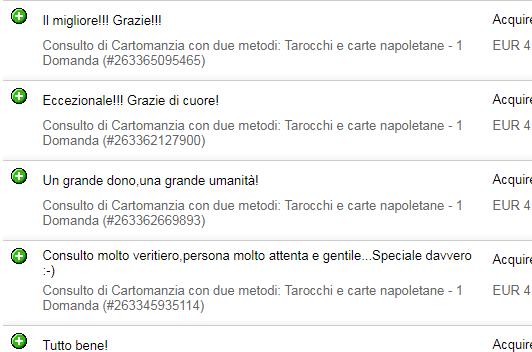 Consulto di Cartomanzia con due metodi: Tarocchi  e carte napoletane - 3 DOMANDE 5