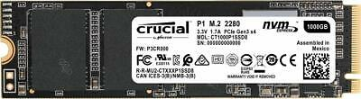 Crucial P1 500GB 1TB SSD M.2 PCIe NVME NAND Internal Solid State Drive 2000MB/s 2