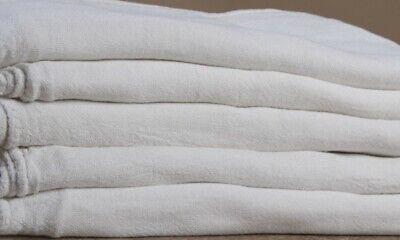 """1000 new great mechanics shop rags towels white 13""""X14"""" 2"""