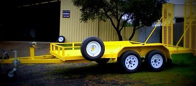 Trailer Plans - 2500KG FLATBED CAR TRAILER PLANS - TANDEM AXLE - PLANS ON CD-ROM 9