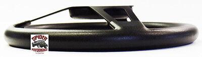 """1953-1954 Chevy Bel Air 150 210 steering wheel BOWTIE 13 3/4"""" BLACK SPOKE 5"""