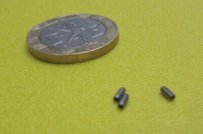 """420 Stainless Steel Coiled Spring Pin, 3/64"""" Dia x 1/8"""" Length, 50 pcs 3"""