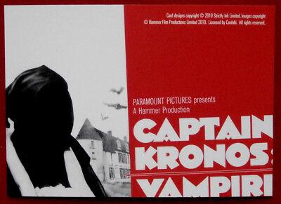 Series Two Captain Kronos: Vampire Hunter Nice Hammer Horror Card #32