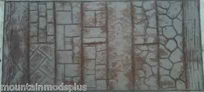 Concrete Cement Landscape Curbing wood woodgrain texture Imprint  Roller Stamp