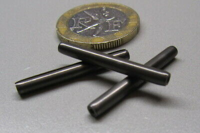 """420 Stainless Steel Coiled Spring Pin, 7/64"""" Dia x 1.00"""" Length, 20 pcs 3"""