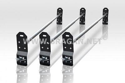 To Fit 00-06 Ford Transit MK6 Medium High Roof Rack Bars Rails Van 3 Bar System 3