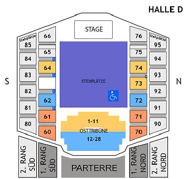 1 Ticket für RAF Camora (STEHPLATZ) @ Stadthalle Wien. - 21.5.21 2