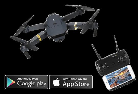 DroneX Pro© - Deutschlands bekannteste Quadrocopter-Drohne - Mit HD-Kamera 9