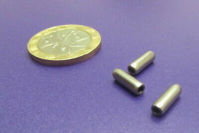 """420 Stainless Steel Coiled Spring Pin, 1/8"""" Dia x 3/8"""" Length, 50 pcs 9"""